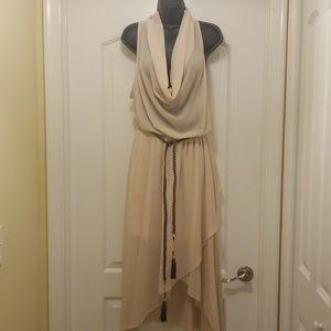 Chiffon high low dress